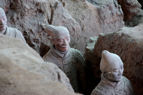 Lone Terracotta Warrior