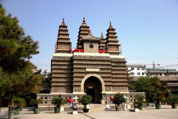 small 5 pagodas