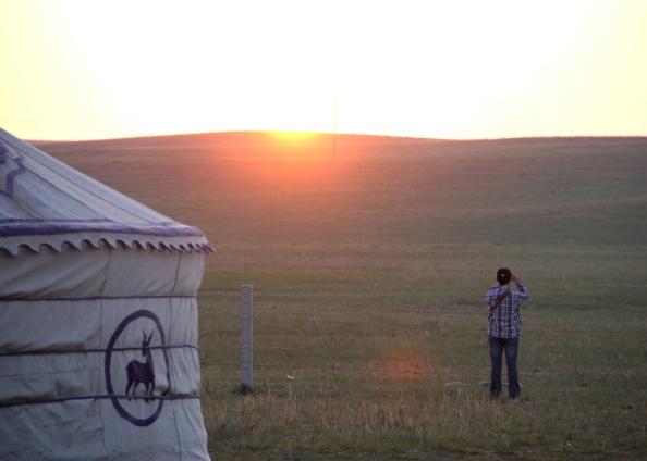 Small sunrise
