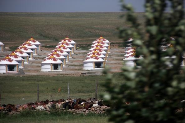 Small yurtville