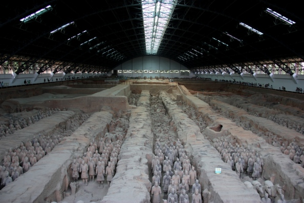 Terracotta Warriors Main Hangar