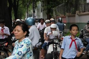Ho Chi Mihn Traffic